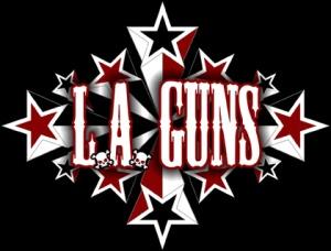 Metal Health tour L A Guns logo