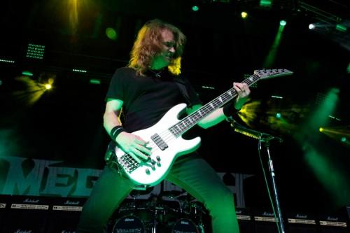 Horns Up Rocks Mayhemfest Megadeth Dave Ellefson B Lo