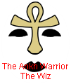 KISS ankh warrior face