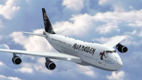 Iron Maiden Ed Force One - 1