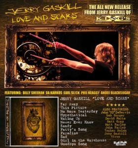 KING'S X Jerry Gaskill love cd tracks