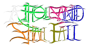 A THOUSAND SHALL FALL logo