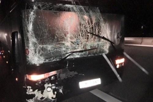 Fear Factory bus insiden