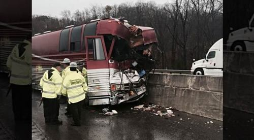 Hinder Bus Accident