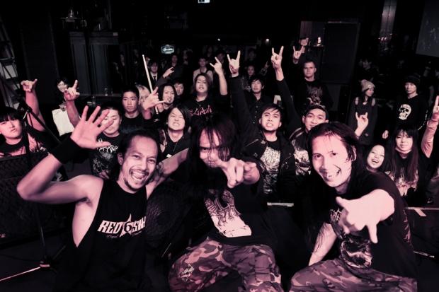 DEATH VOMIT-Unlimited Black Air 2015 japan