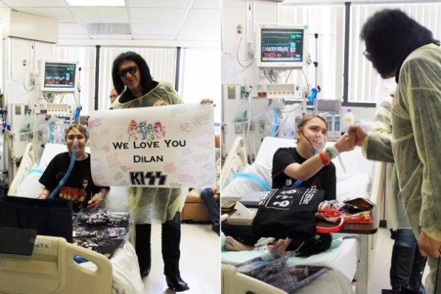 KISS-Gene Simmons & Dilan-Hospital